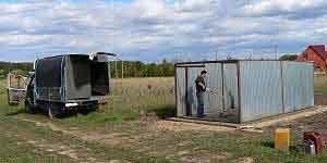 Дачный переезд на газели